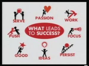 The secret to success through your passion