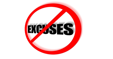 Stop With Your Excuses