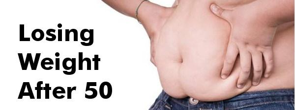 Losing weight in your 50s