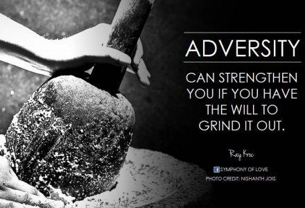 Adversity Is Inevitable In Life