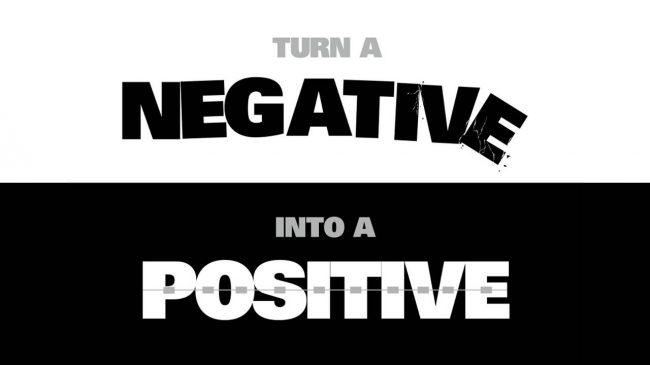 Look For The Positive In Life