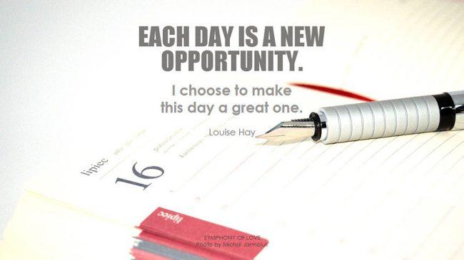 Our Daily Choices Matter