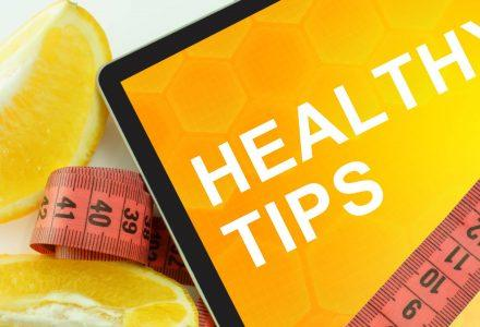 My Top 10 Healthy Lifestyle Tips