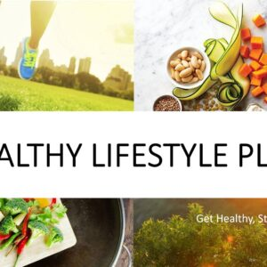 Healthy Lifestyle Plan Product Image