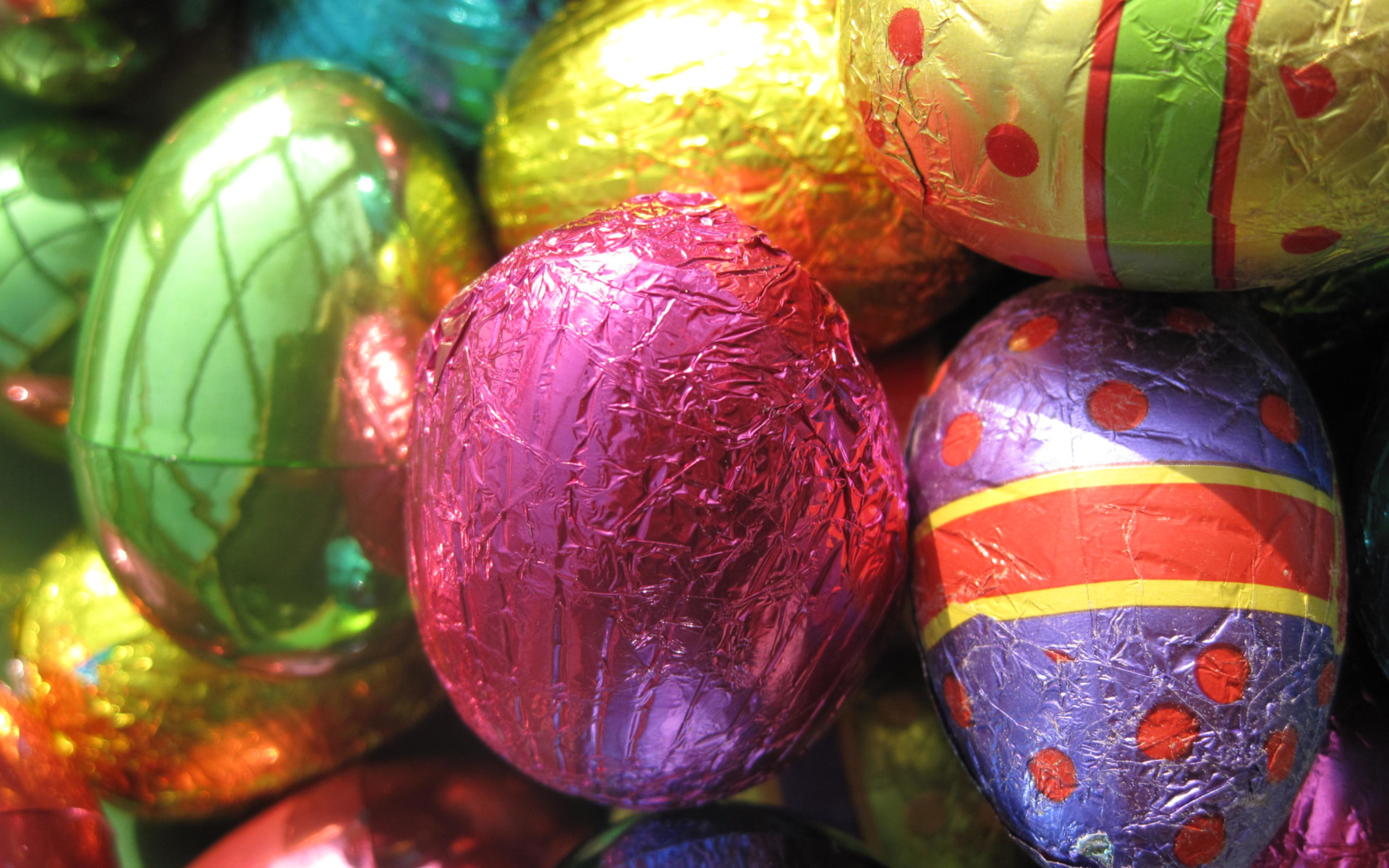 A Bunch Of Easter Eggs