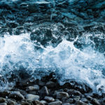Wave Splashing Clean Water