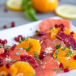Fresh Fruit On A Plate